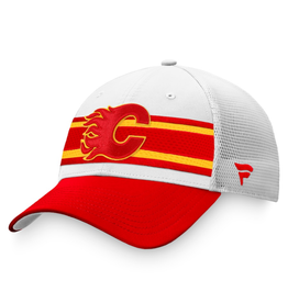 Fanatics Fanatics Men's '21 Draft Hat Adjustable Calgary Flames White