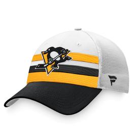 Fanatics Fanatics Men's '21 Draft Hat Adjustable Pittsburgh Penguins White