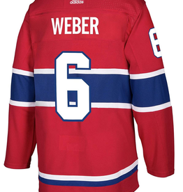 Adidas Adidas Men's Shea Weber #6 Jersey Montreal Canadiens Red