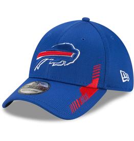 New Era Men's '21 39THIRTY Sideline Home Hat Buffalo Bills Blue