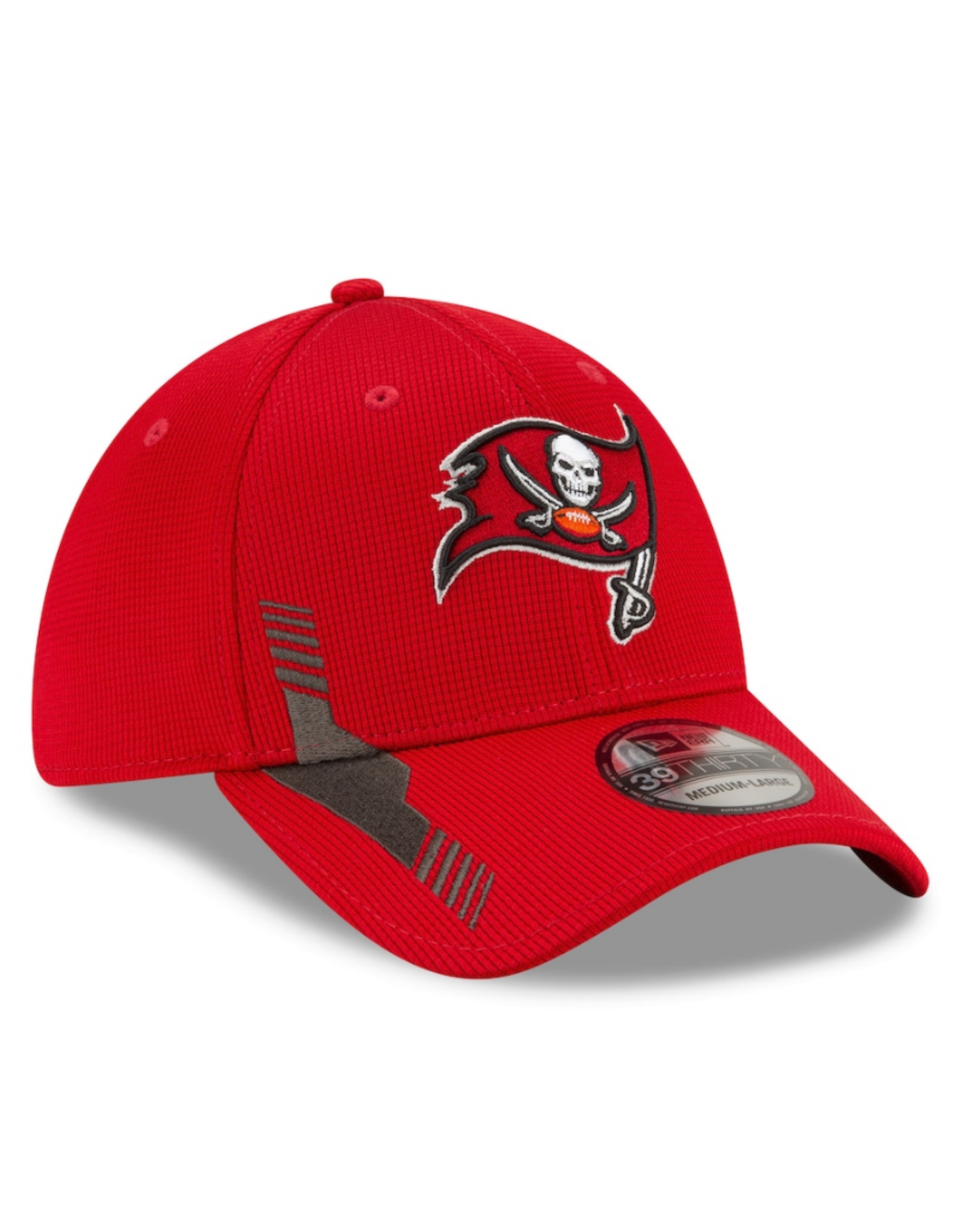 New Era Men's '21 39THIRTY Sideline Home Hat Tampa Bay Buccaneers Burgandy