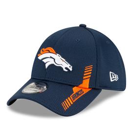 New Era Men's '21 39THIRTY Sideline Home Hat  Denver Broncos Navy