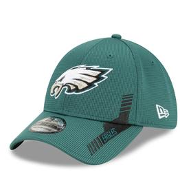 New Era Men's '21 39THIRTY Sideline Home Hat Philadelphia Eagles Green