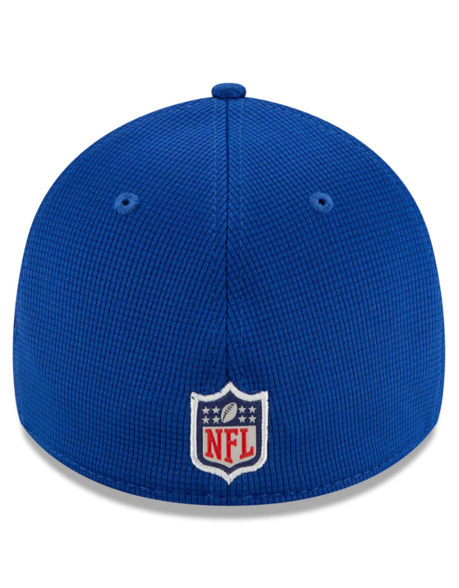 New Era Men's '21 39THIRTY Sideline Home Hat Los Angeles Rams Blue