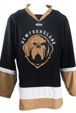 ECHL Men's Replica Jersey Newfoundland Growlers Black