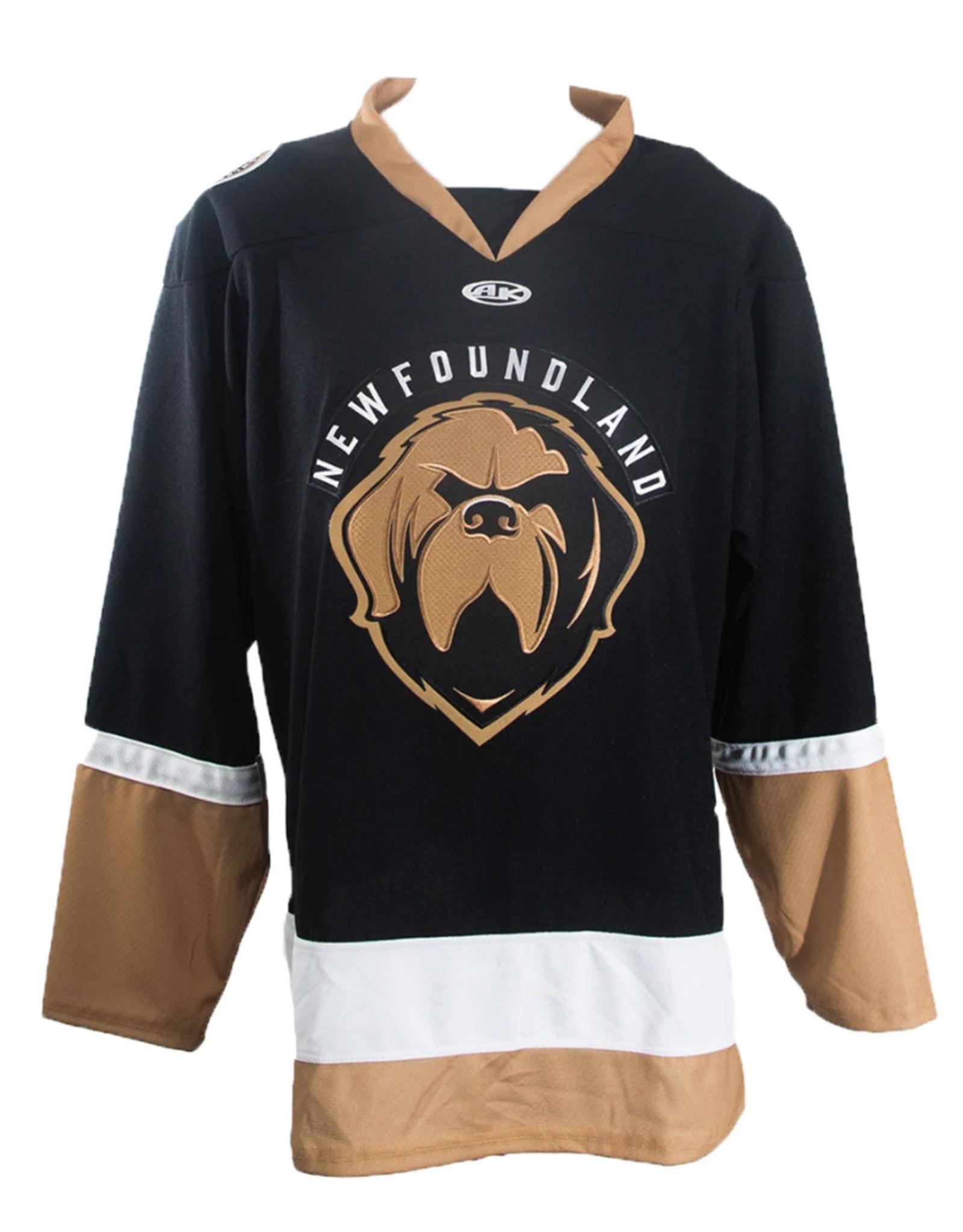 ECHL Youth Replica Newfoundland Growlers Jersey Black