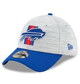 New Era '21 39THIRTY Training Hat Buffalo Bills Grey