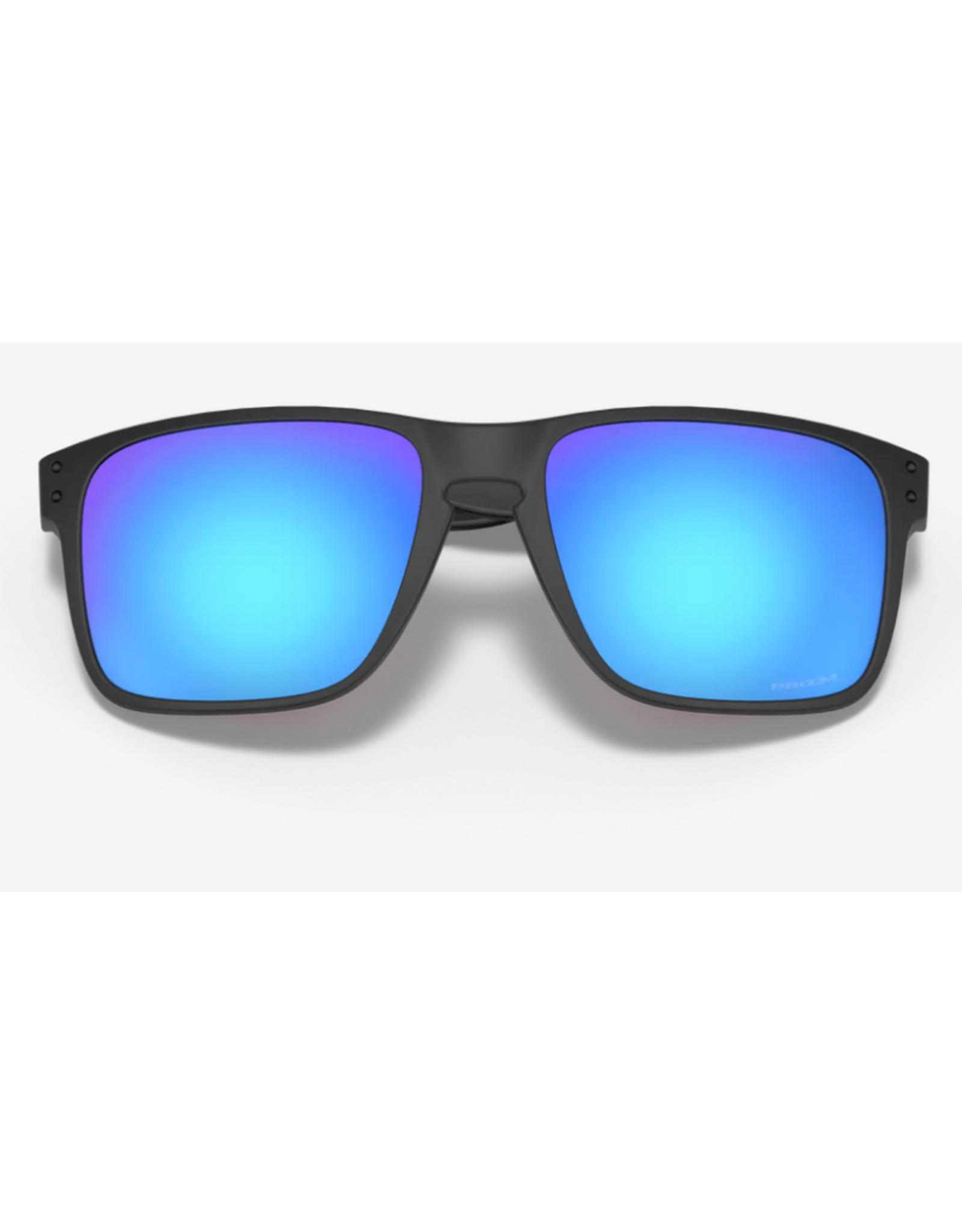 Oakley Holbrook XL Prizm Sapphire Iridium Lense Polished Black Frame Sunglasses