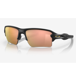 Oakley Flak 2.0 XL Prizm Rose Gold Polarized Matte Black Sunglasses