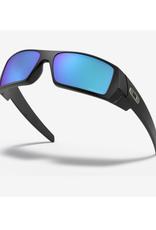 Oakley Gascan Prizm Sapphire Polarized Lenses Matte Black Frame Sunglasses