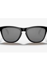 Oakley Frogskins Mix Prizm Black Lenses Polished Black Frame Sunglasses