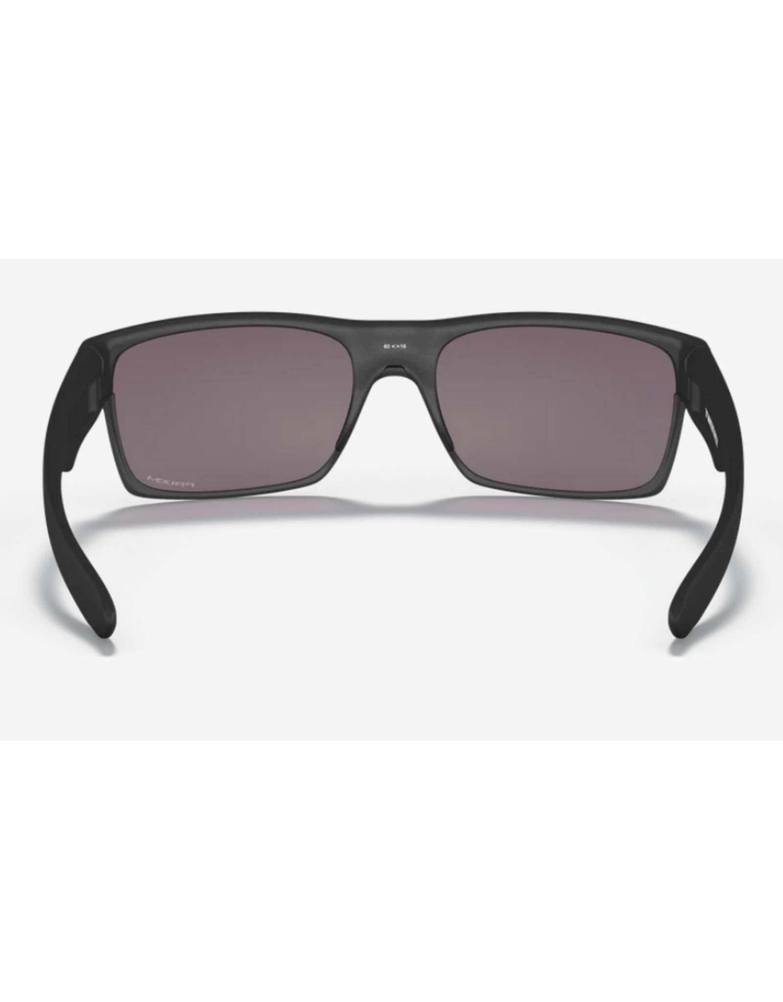 Oakley Twoface Prizm Grey Lenses Steel Frame Sunglasses
