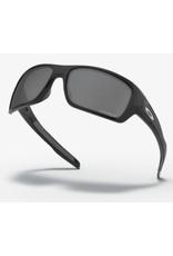Oakley Turbine Prizm Black Polarized Lenses Polished Black Frame Sunglasses