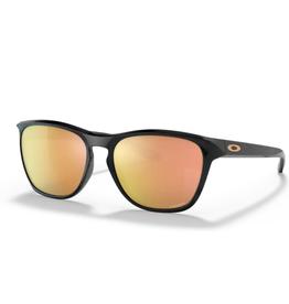 Oakley Manorburn  Prizm Rose Gold Polished Black Sunglasses