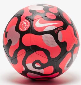 Nike Premier League Pitch Soccer Ball Crimson Black Size 5