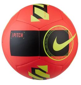 Nike Premier League Pitch Soccer Ball Crimson Yellow Size 5