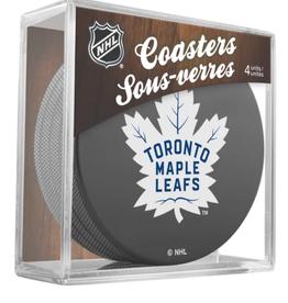 Inglasco Inglasco Puck Coasters Toronto Maple Leafs