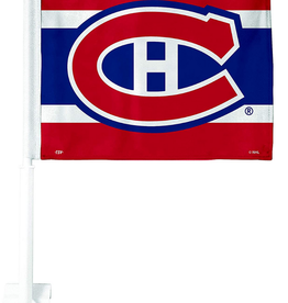 The Sports Vault Double Sided Car Flag Montreal Canadiens