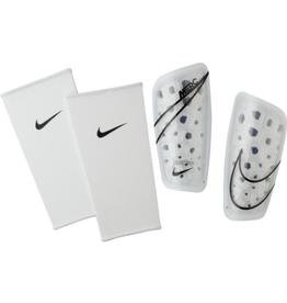 Nike Adult Mercurial Lite Soccer Shin Guard  White
