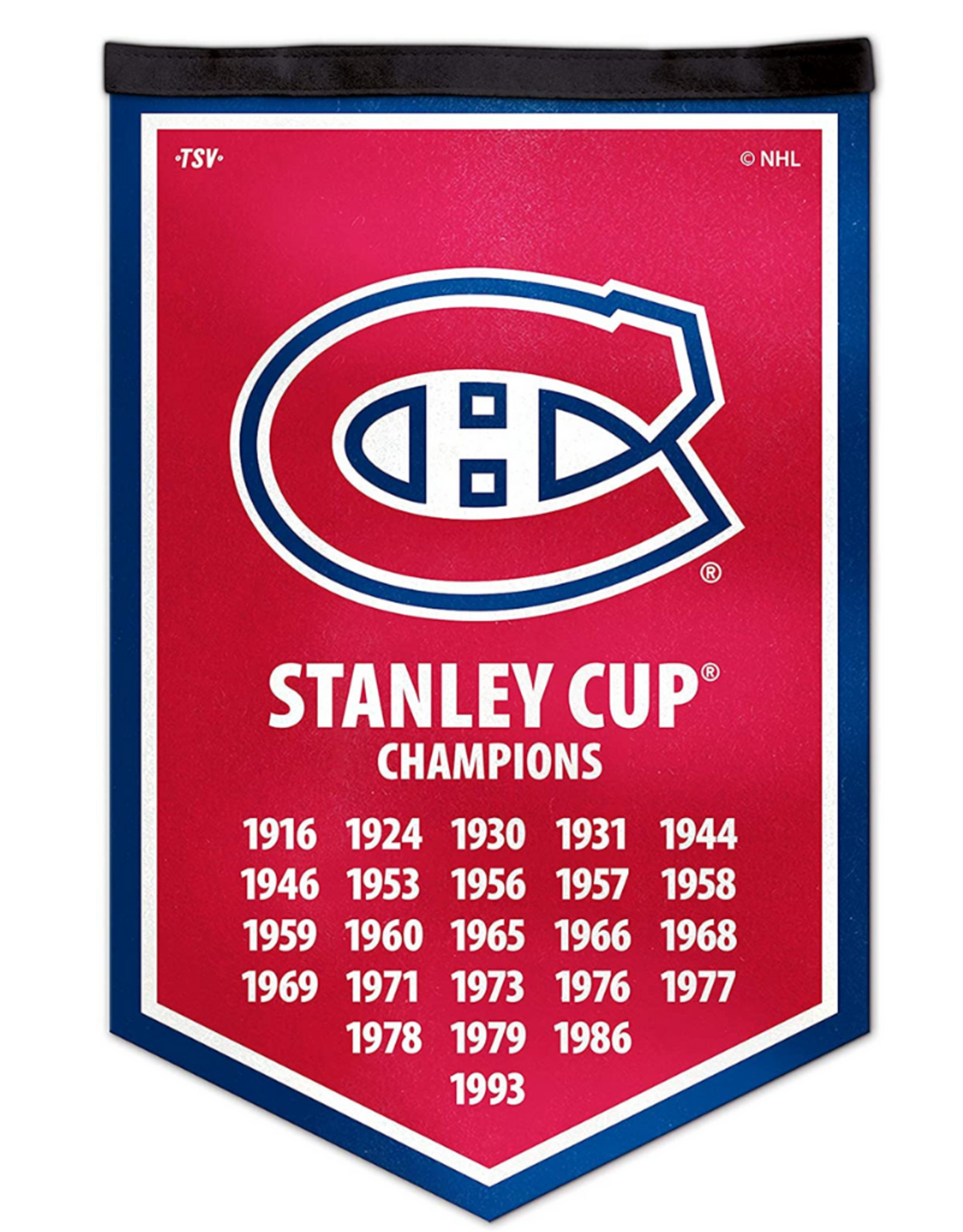 The Sports Vault Victory Banner Montreal Canadiens