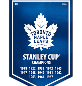 The Sports Vault Victory Banner Toronto Maple Leafs