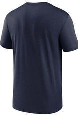 Nike Men's Microtype T-Shirt New England Patriots Navy