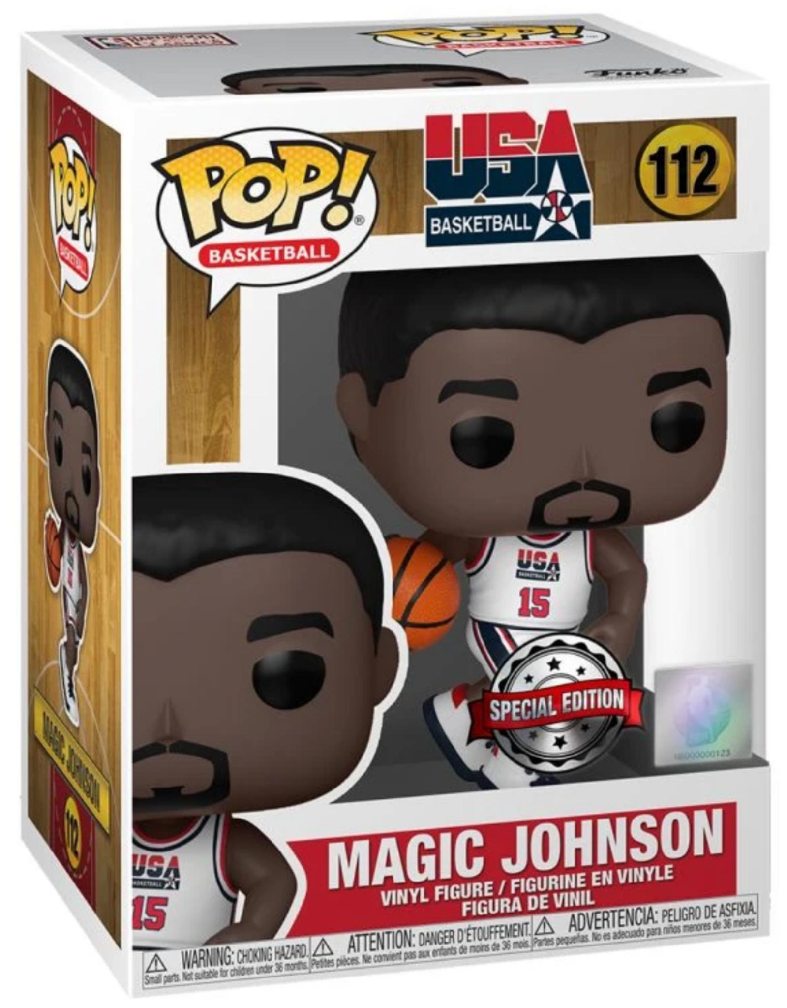 Funko POP! Figure USA Magic Johnson #15 White