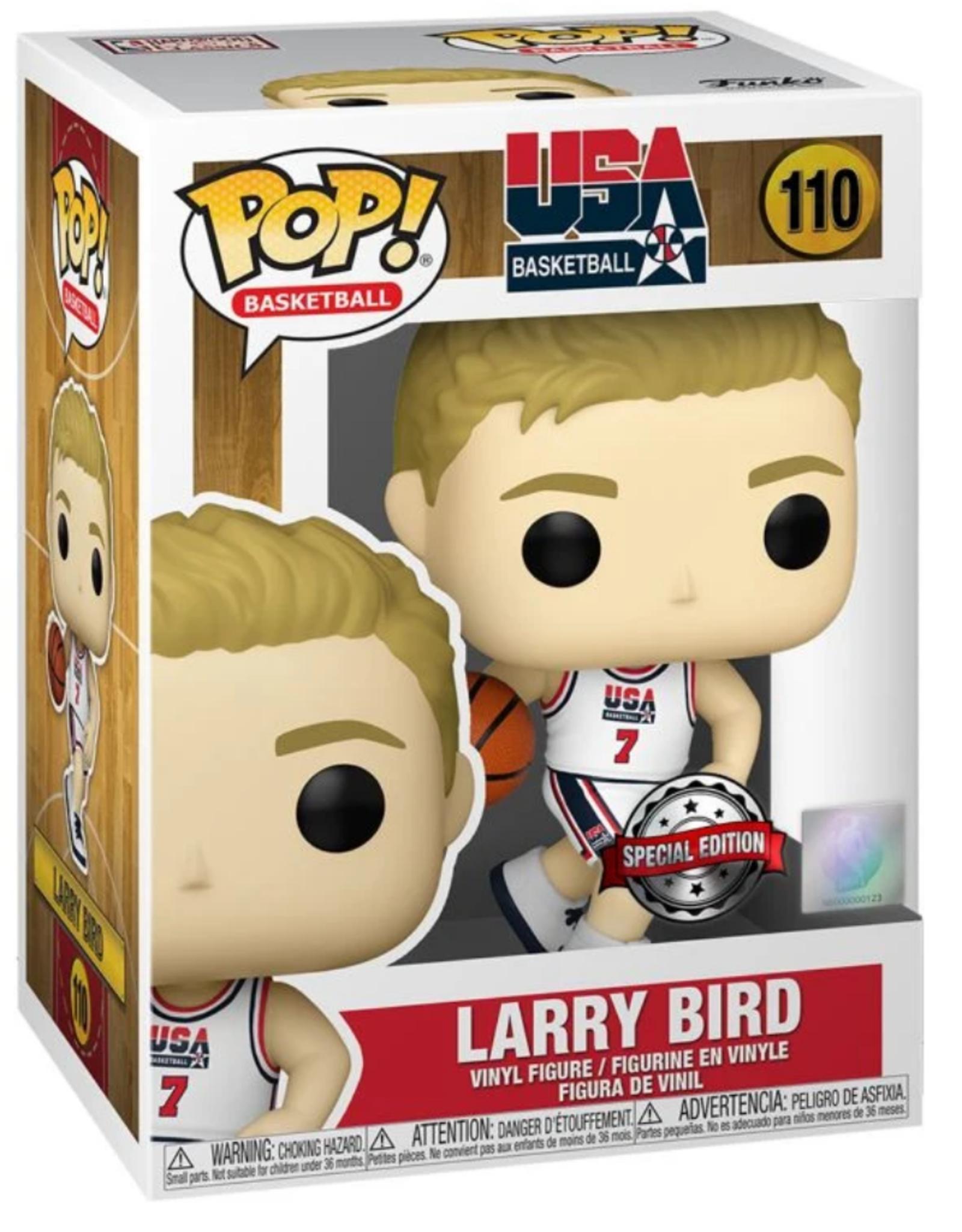Funko POP! Figure USA Larry Bird #7 White