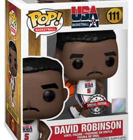 Funko POP! Figure USA David Robinson #5 White