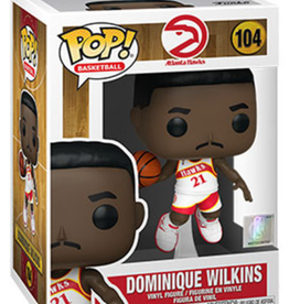 Funko POP! Figure Dominique Wilkins Atlanta Hawks White