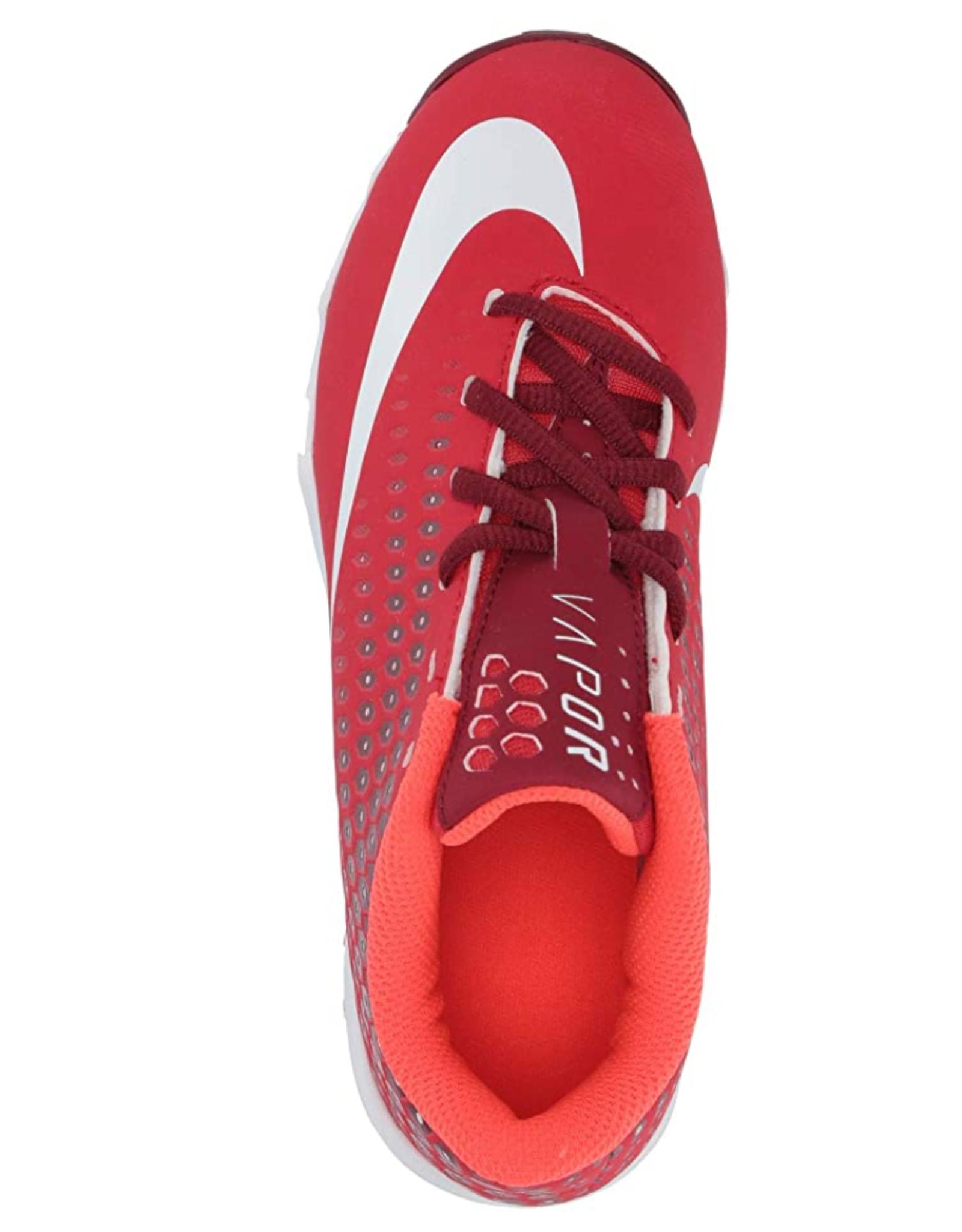 Nike Youth Vapor Ultrafly Keystone Baseball Cleats Red