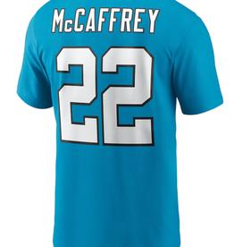 Nike Men's Player T-Shirt McCaffrey #22 Carolina Panthers Teal