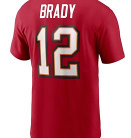 Nike Men's Player T-Shirt Brady #12 Tampa Bay Buccaneers Red