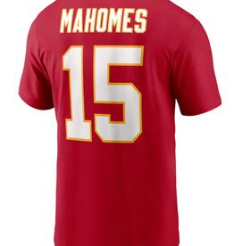 Nike Men's Player T-Shirt Mahomes #15 Kansas City Chiefs Red
