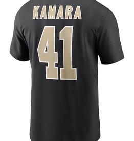 Nike Men's Player T-Shirt Kamara #41 New Orleans Saints Black