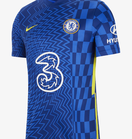 Nike Men's 21-22 Home Soccer Jersey Chelsea Blue