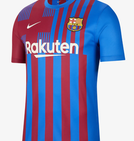Nike Men's 21-22 Home Soccer Jersey Barcelona Blue
