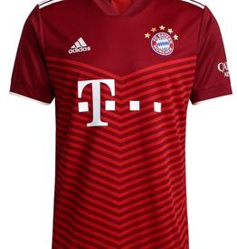 Adidas Adidas Men's '21 Soccer Jersey Bayern Munich Burgandy