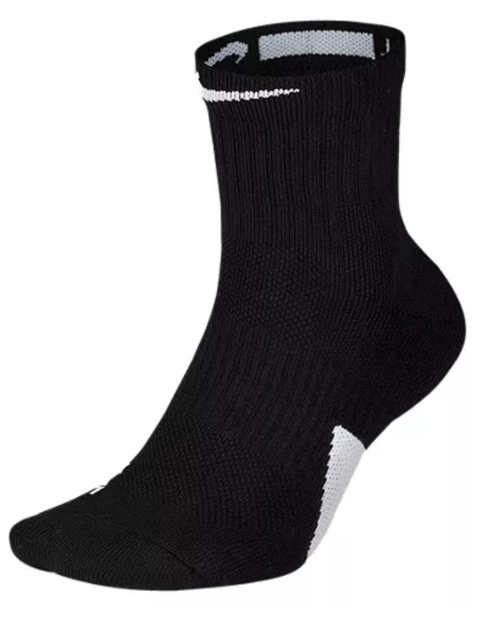 Nike Elite Mid Ankle Sock Black