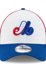 New Era Men's 39THIRTY Team Classic Stretch Hat Montreal Expos Red/White/Blue