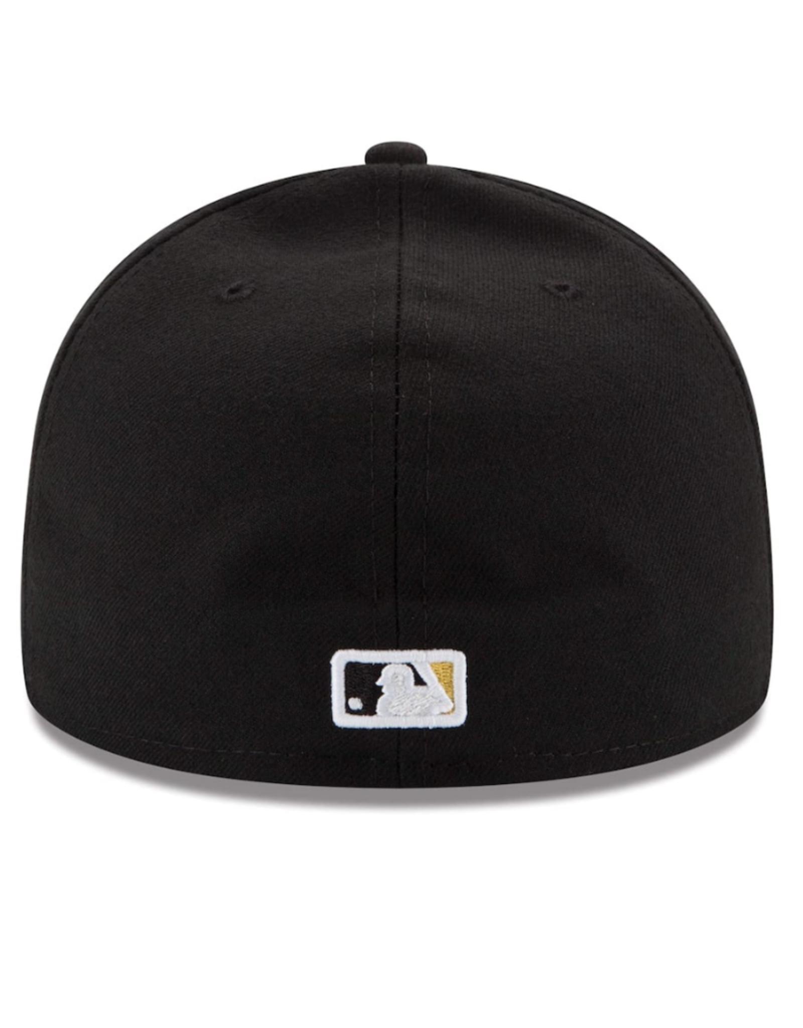 New Era On-Field Alternate Hat Pittsburgh Pirates Black
