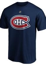 Fanatics Fanatics Men's Player T-Shirt Nick Suzuki #14 Montreal Canadiens Navy