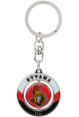 JF Sports Spinner Keychain Ottawa Senators