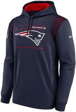 Nike Men's '21 Sideline Therma Hoodie New England Patriots Navy