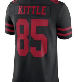Nike Men's Limited Kittle #85 Jersey San Francisco 49er's Black