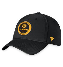 Fanatics Fanatics Authentic Pro Training Stretch Fit Hat Boston Bruins Black
