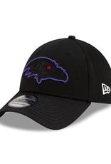 New Era '21 Sideline Road 39THIRTY Baltimore Ravens Black