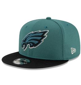 New Era '21 Sideline Road 9FIFTY Snapback Hat Philadelphia Eagles Green