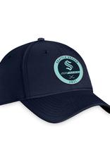 Fanatics Fanatics Authentic Pro Training Stretch Fit Hat Seattle Kraken Navy