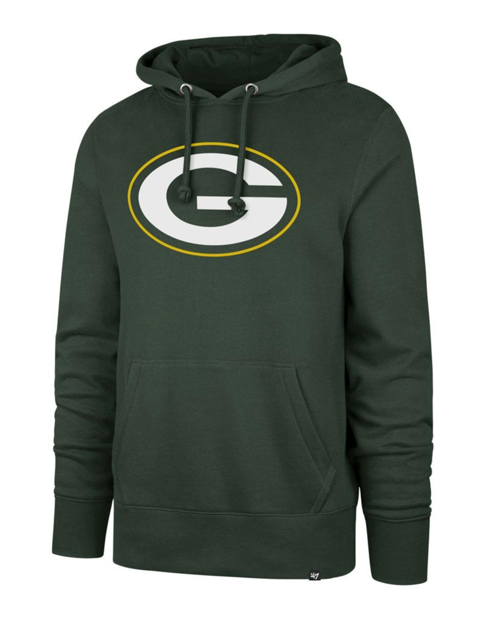 '47 Adult Imprint Headline Hoodie Green Bay Packers Green